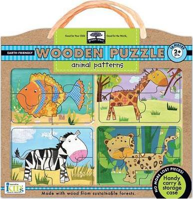 Earthly Friendly Puzzles with Handy Carry & Storage Case