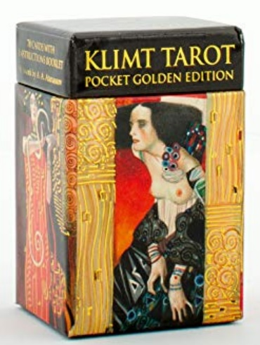 Klimt Tarot (Pocket Golden edition) Mini Tarot